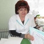 Главная медсестра Волжанина Валентина Григорьевна