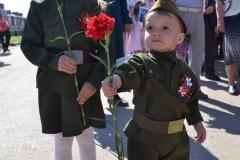 ГБУЗ Светлоярская ЦРБ. Канищева Анастасия и Канищев Захар. 9 мая 2016.